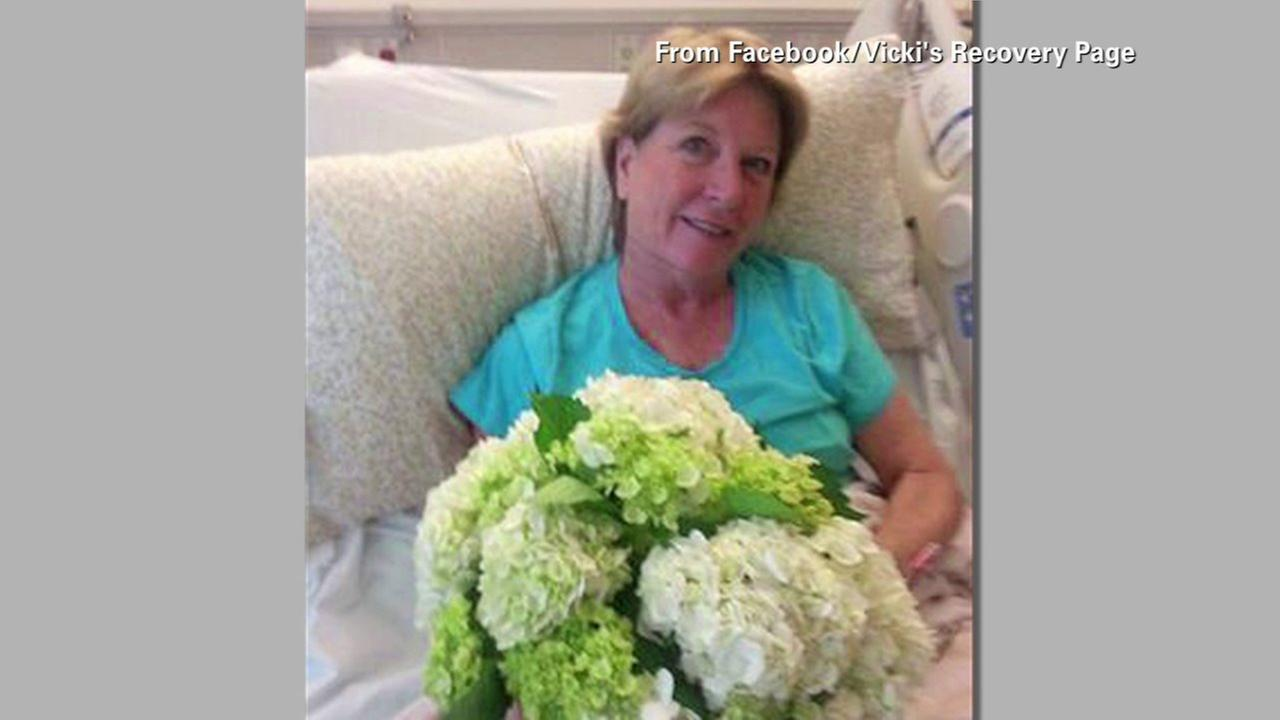 Photos show surviving Va. shooting victim sitting up, smiling