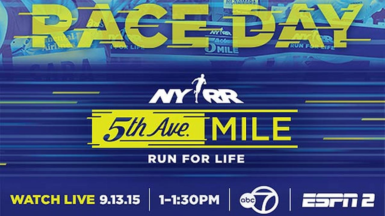 Watch the NYRR 5th Avenue Mile here on abc7NY!