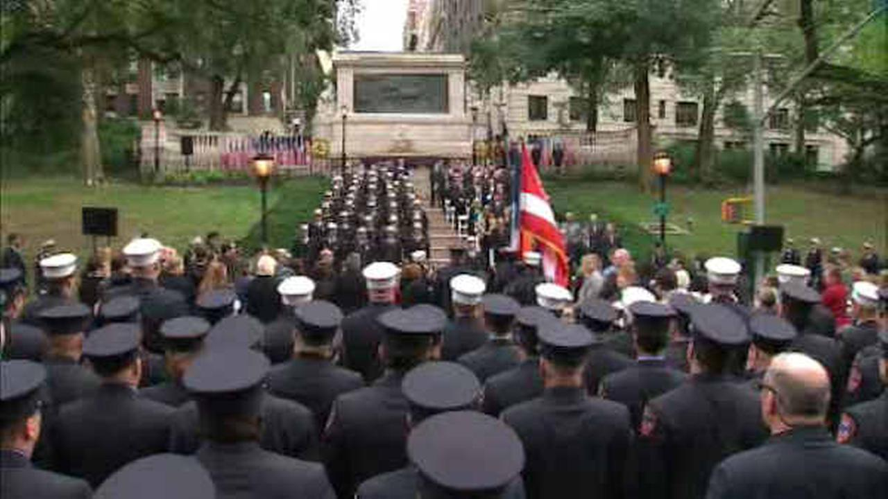 FDNY honors first responders who died after working at Ground Zero