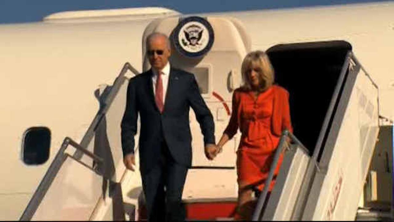 Vice President Biden heads to New York City Thursday to focus on economy, sexual assault cases