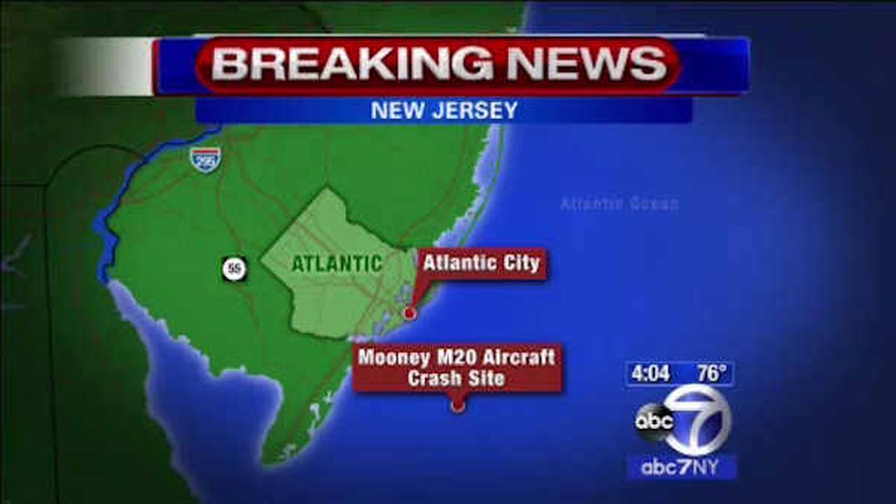 Single-engine plane crashes into ocean off Atlantic City coast, 1 dead