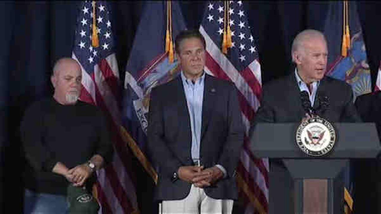 Billy Joel, Biden, Cuomo at fire company blanketed with tragedy on 9/11