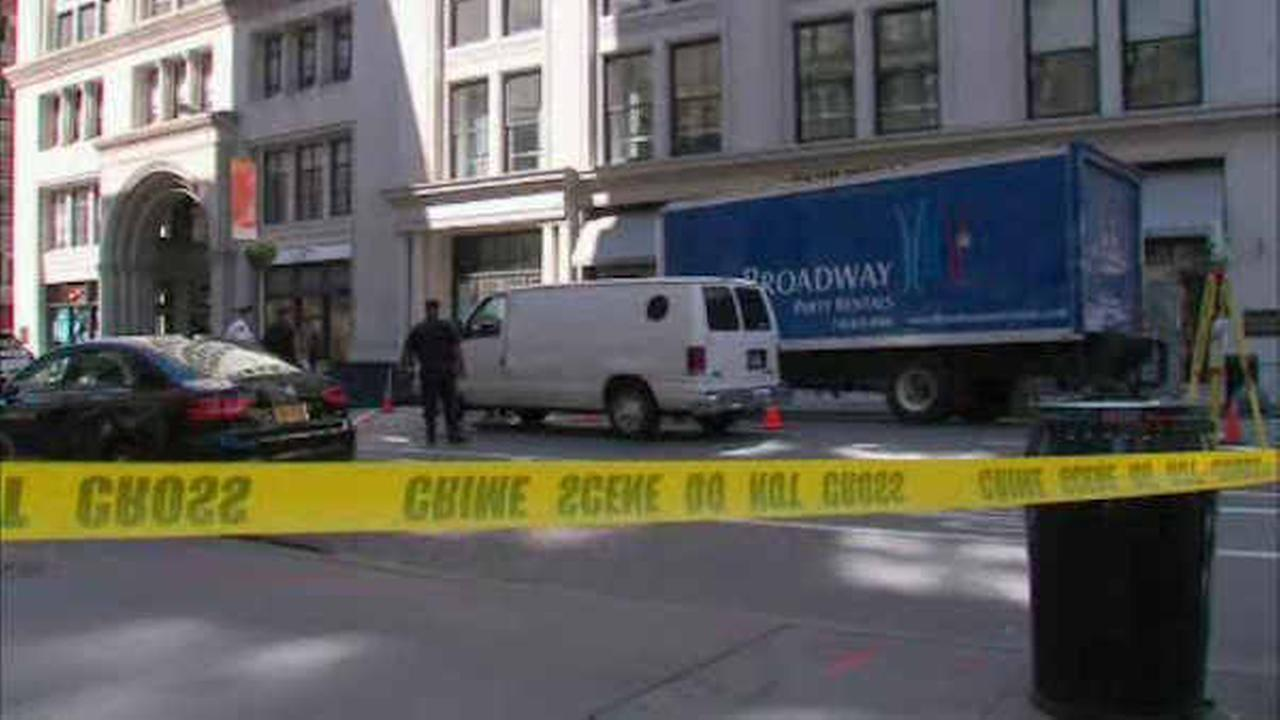 Woman critically hurt after being struck by van on 5th Avenue in Manhattan