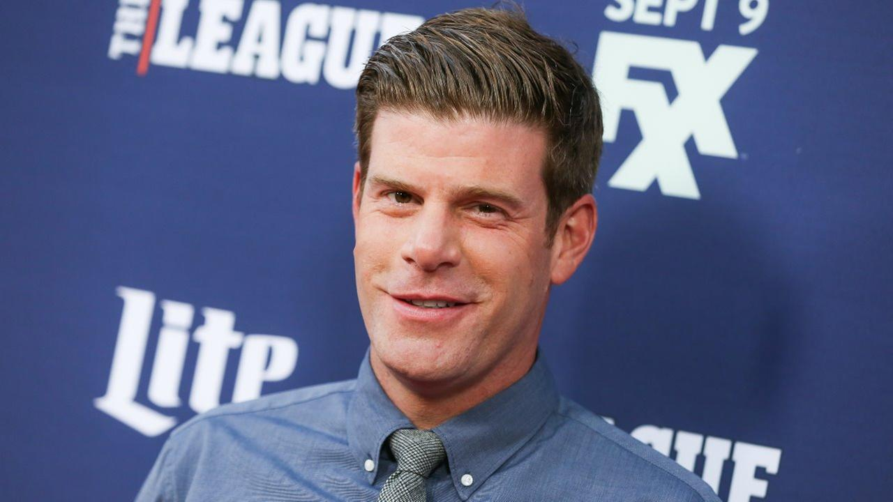 Stephen Rannazzisi of The League arrives at the Red Carpet Premiere Event of The League and Youre the Worst at the Bruin Theatre on Tuesday, Sept. 8, 2015, in Los Angeles.