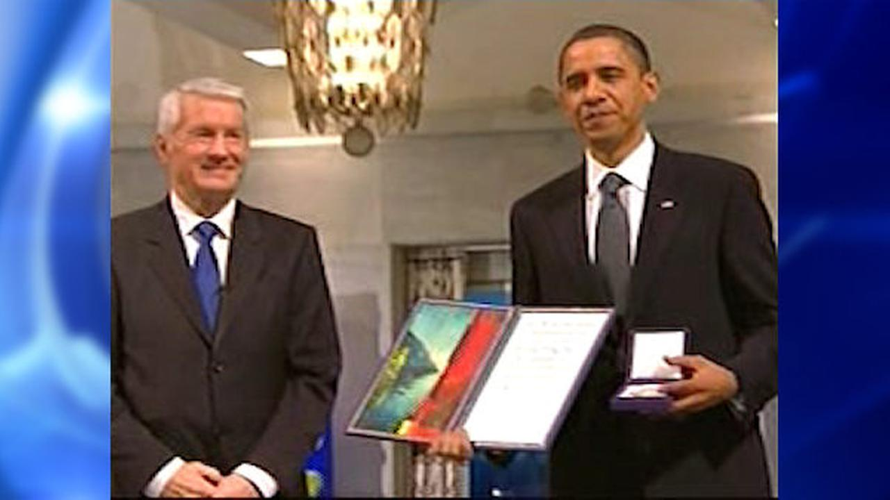 Nobel peace official: Obama peace prize didn't have desired effect
