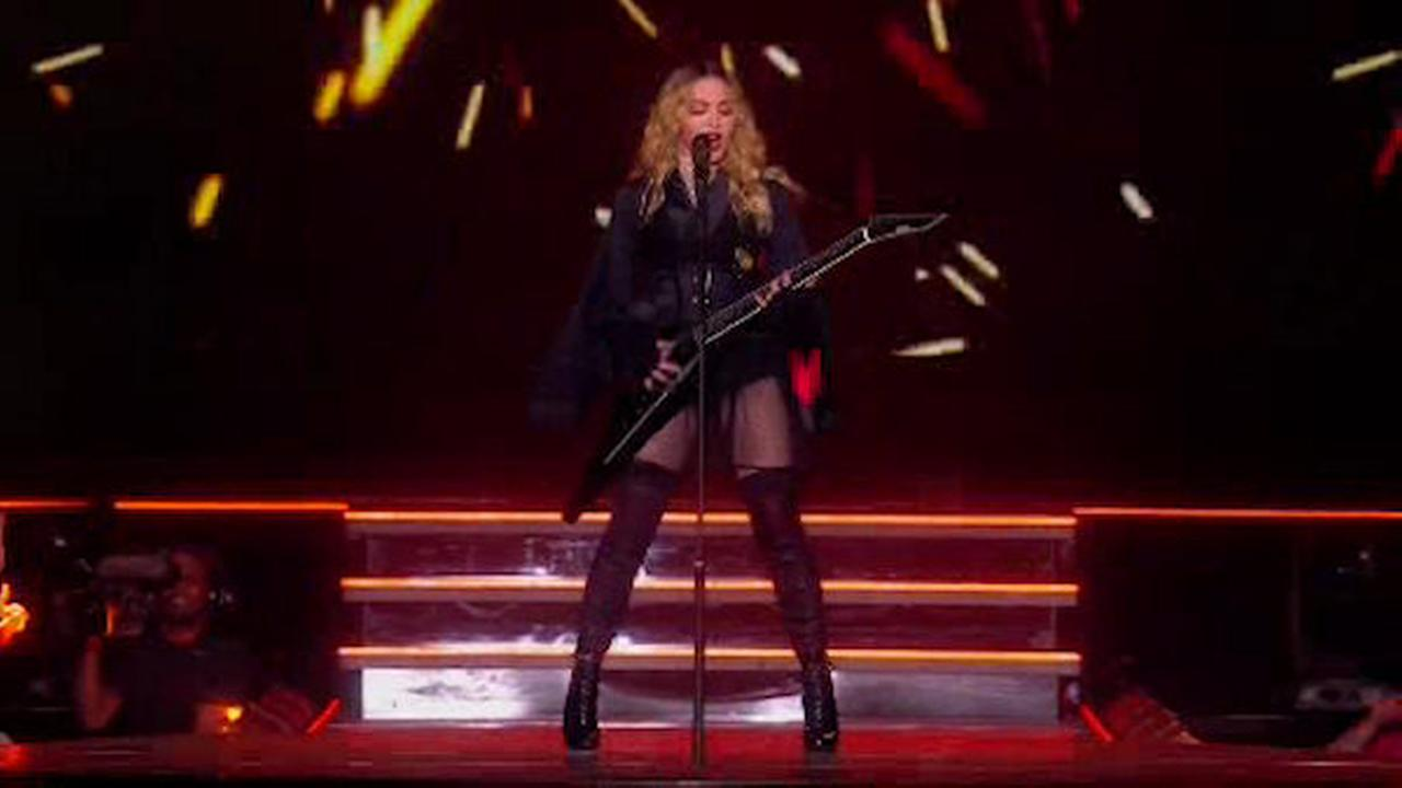 Madonna performs at Madison Square Garden