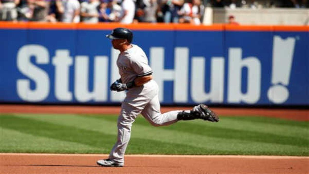 Subway Series: Beltran, McCann homer, Yankees beat Mets 5-0