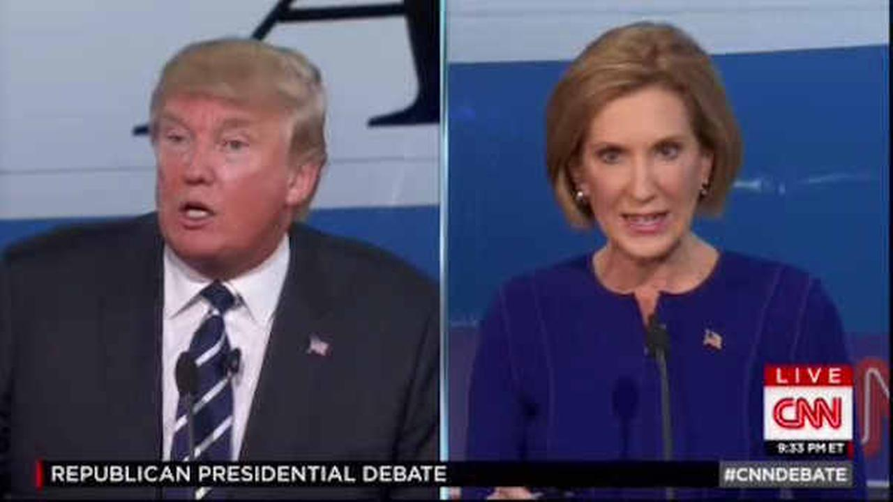 First poll after GOP debate shows Trump still leading, but Fiorina gaining