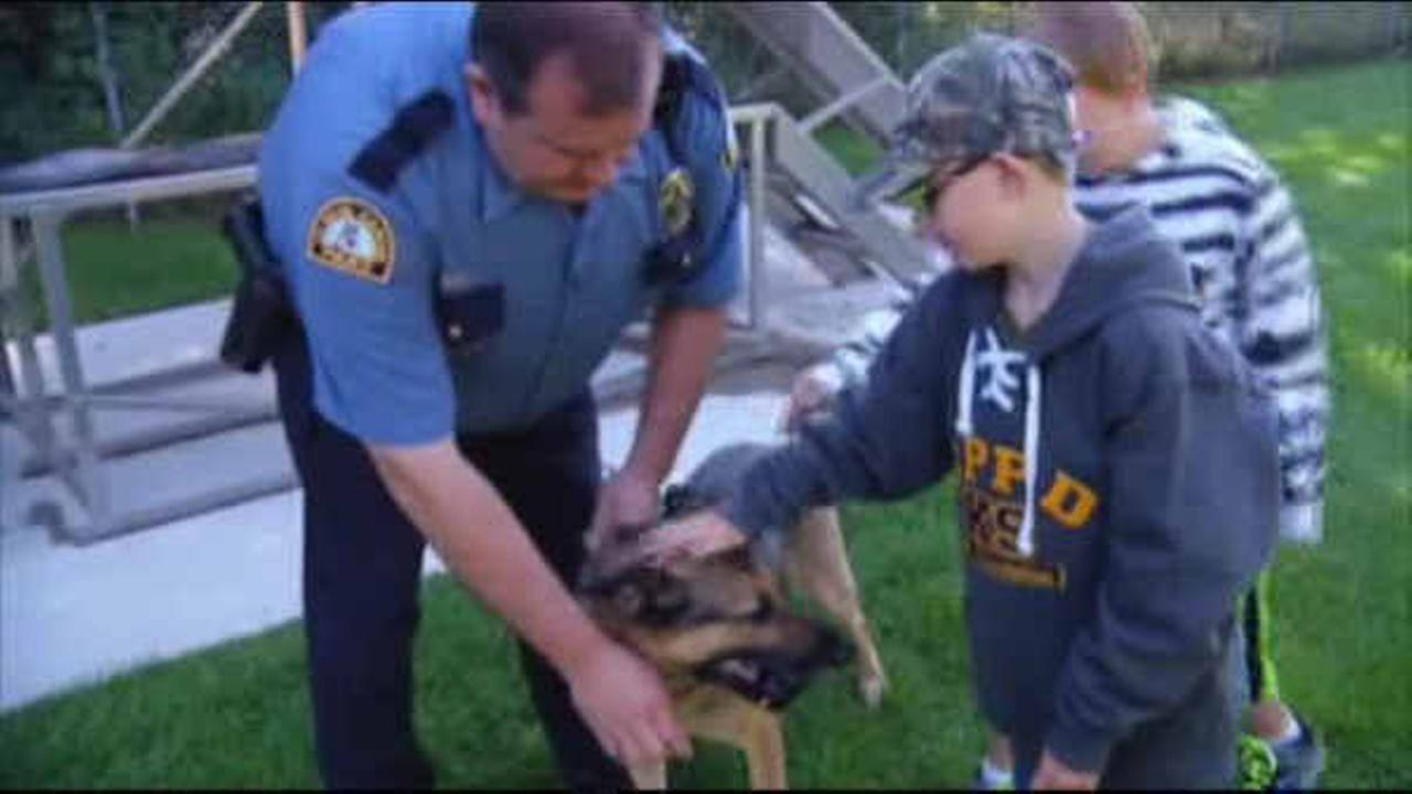 Boy, 9, donates birthday money for bulletproof vests for police K-9 unit