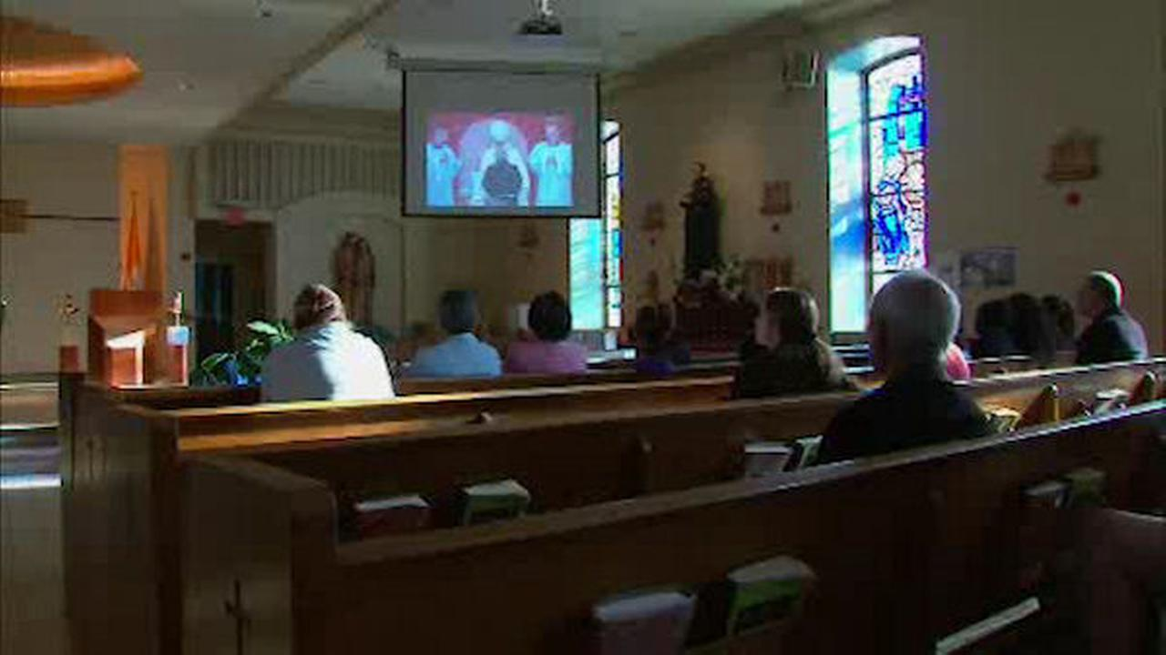 Catholic church in Queens streaming Pope Francis' events for parishioners