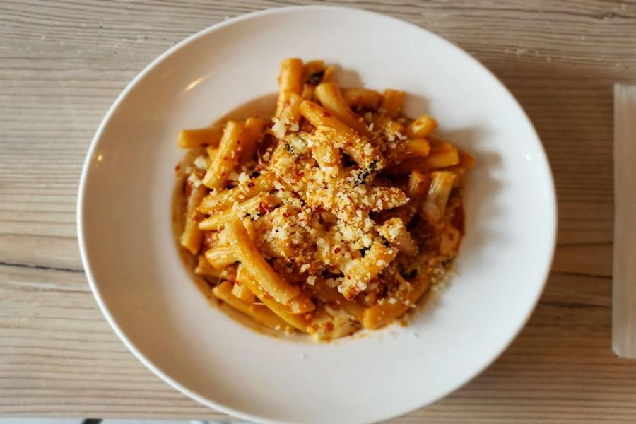 MangiPasta. | Photo: Nicole D./Yelp