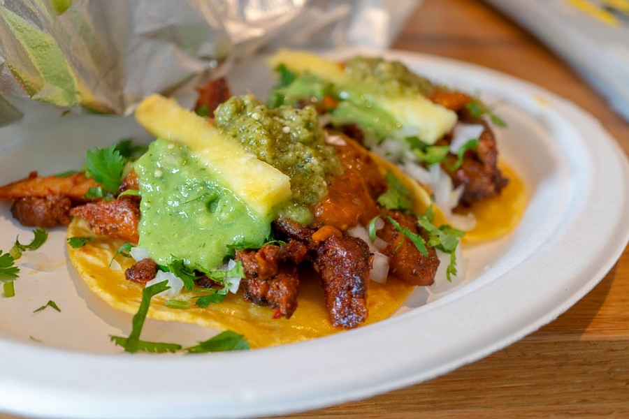 Los Tacos Al Pastor. | Photo: Pat L./Yelp