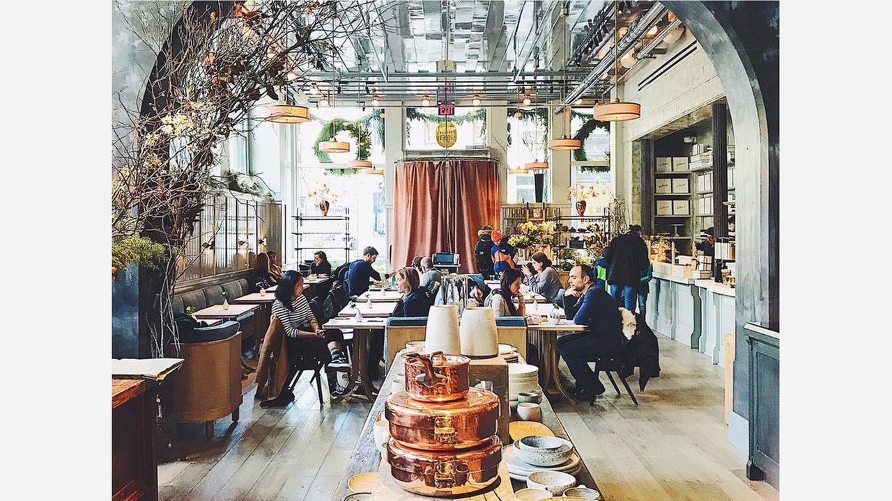 Retail Restaurant 'La Mercerie' Now Open In Soho