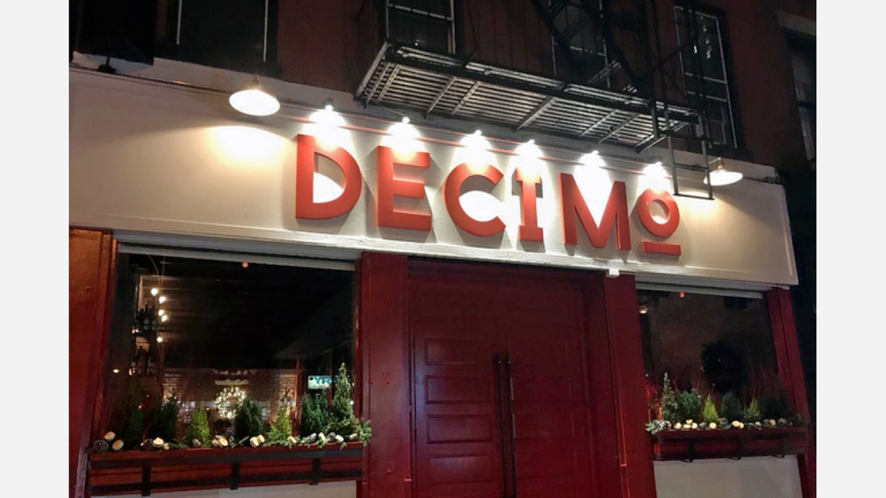 New Wine Bar 'Decimo Ristobar' Opens In Hell's Kitchen