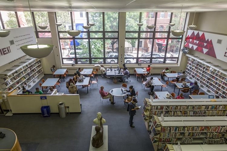 Countee Cullen Library. | Photo: Nicole D./Yelp