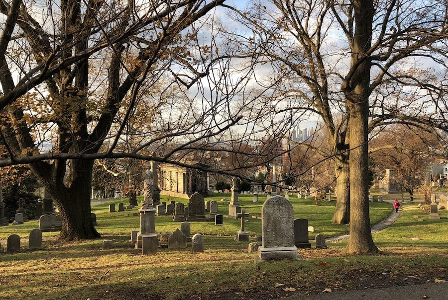 Green-Wood Cemetery. | Photo: Nadia A./Yelp