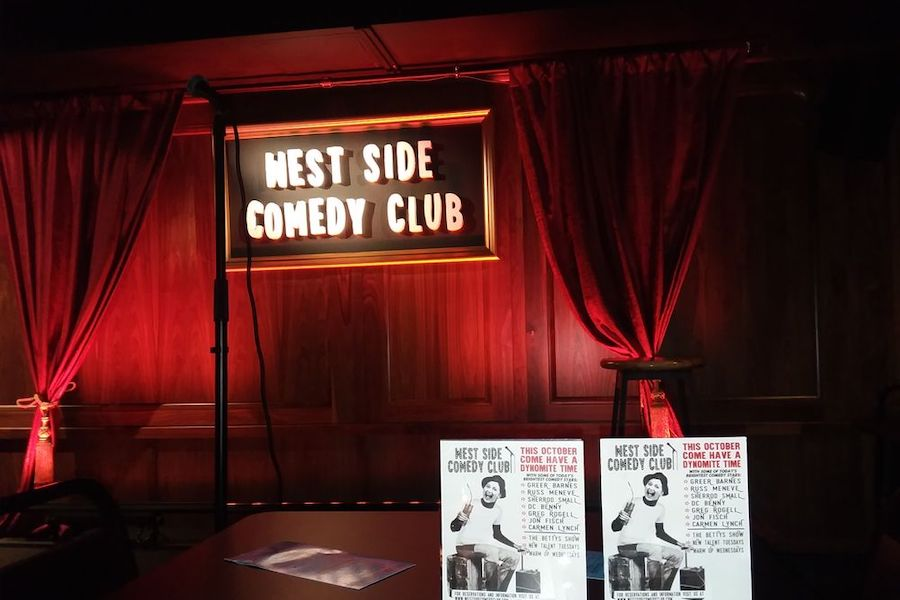 West Side Comedy Club.| Photo: Dialm4 M./Yelp