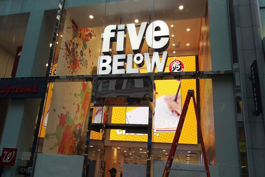 Five Below. | Photo: Tom G./Yelp