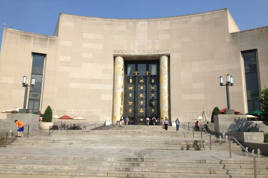 Brooklyn Public Library. | Photo: Kai-Michelle C./Yelp