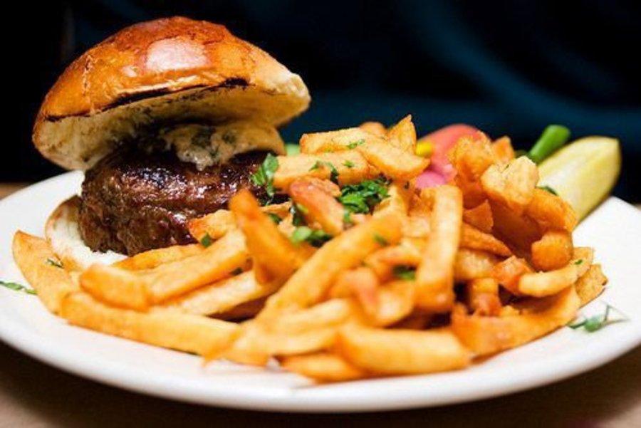 DuMont Burger.   Photo: Jake L./Yelp