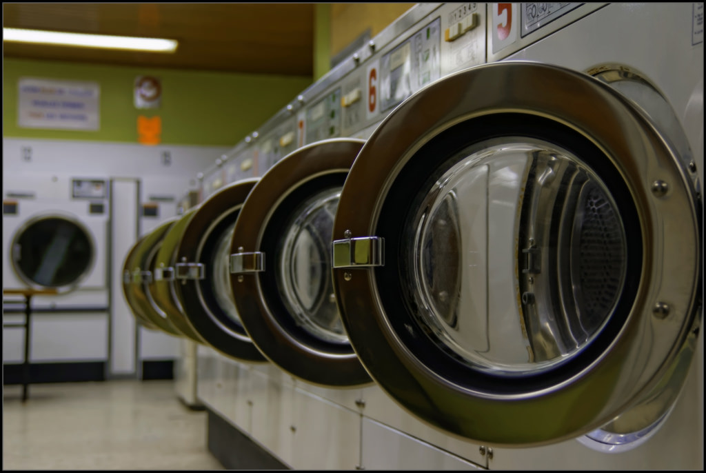 Business pages for laundry services saw the biggest slide in NYC last month.   Photo: Guillaume DELEBARRE/Flickr