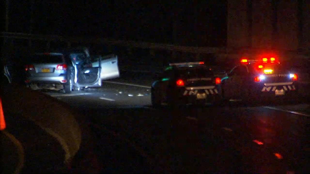 7 hurt in wrong-way crash on Bronx River Parkway