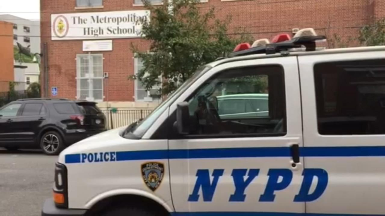 Stabbing reported near high school in the Bronx