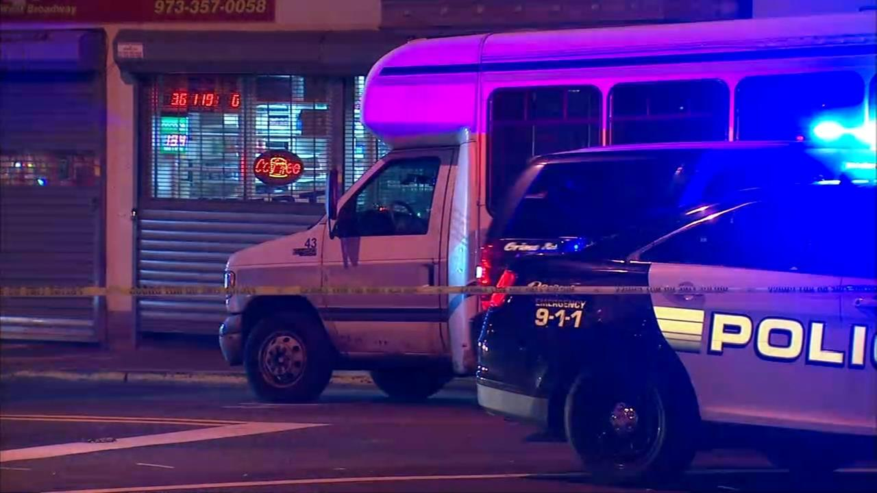Jitney bus driver shot during attempted robbery in Paterson
