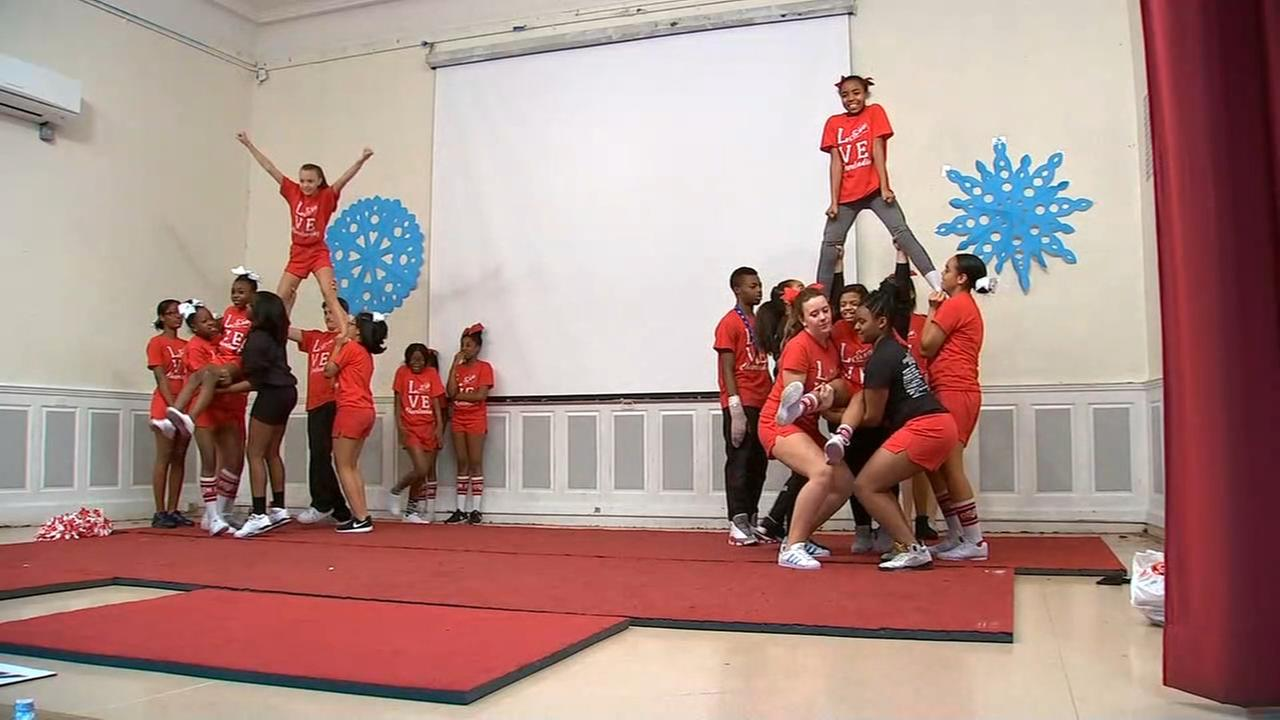 Bronx middle school cheerleaders heading to Nationals