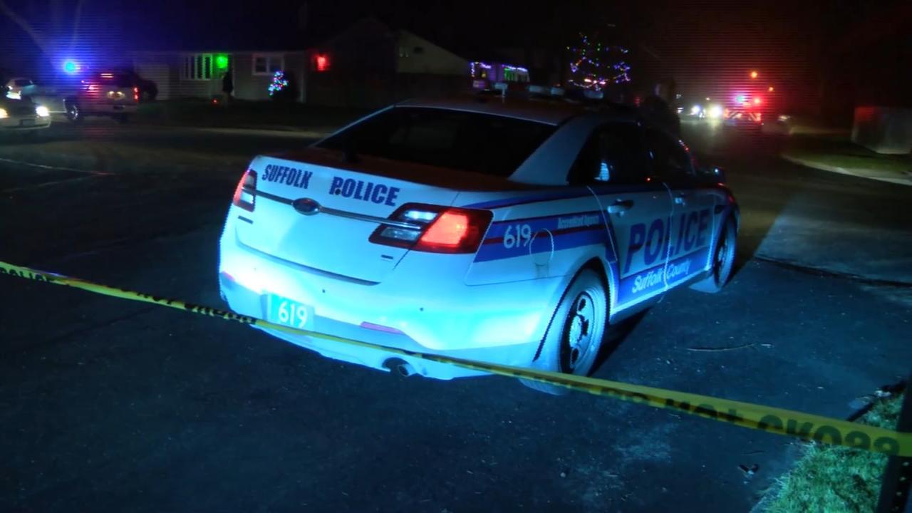 2 men dead in shooting in front of home in Medford, Long Island