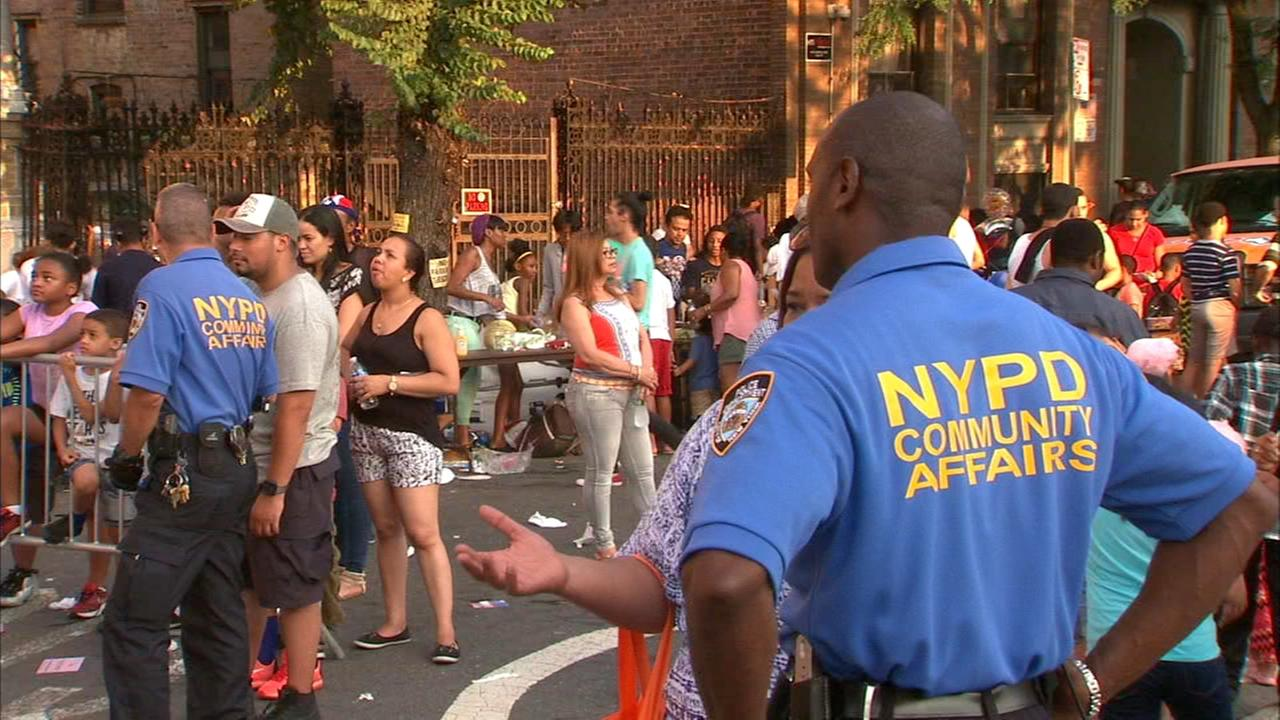 NYPD holds National Night Out Against Crime in New York City