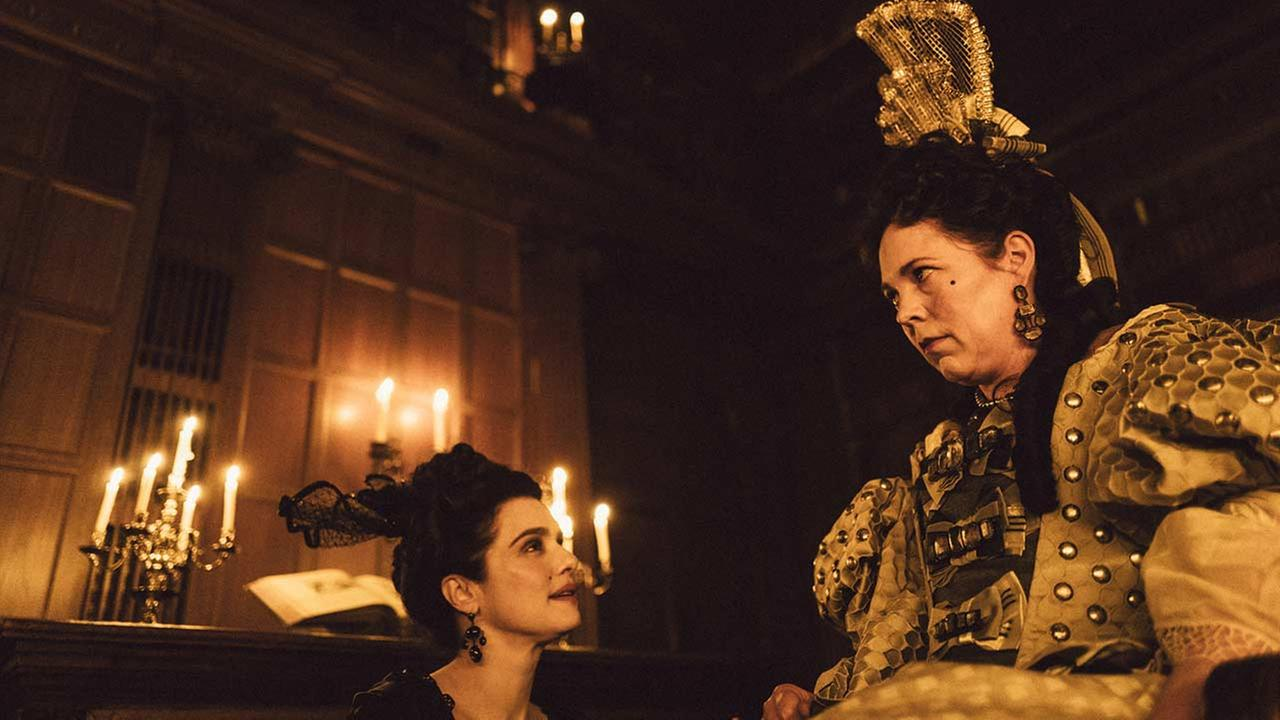 Yorgos Lanthimoss wildly intricate and very darkly funny new film The Favorite opens the 56th Annual New York Film Festival.