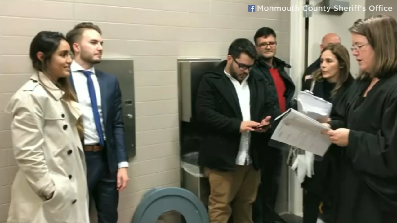 Couple married in courthouse bathroom after mom falls ill