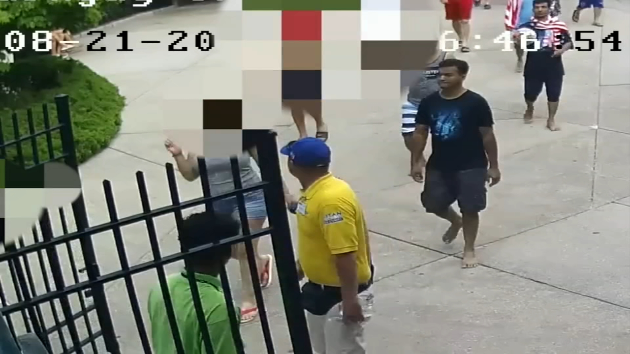 The incident happened at Splish Splash water park.