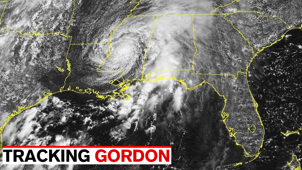 tropical depression gordon