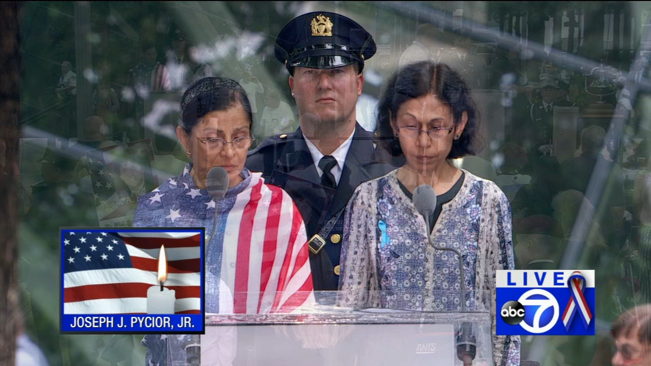 9/11 Ceremony from Lower Manhattan