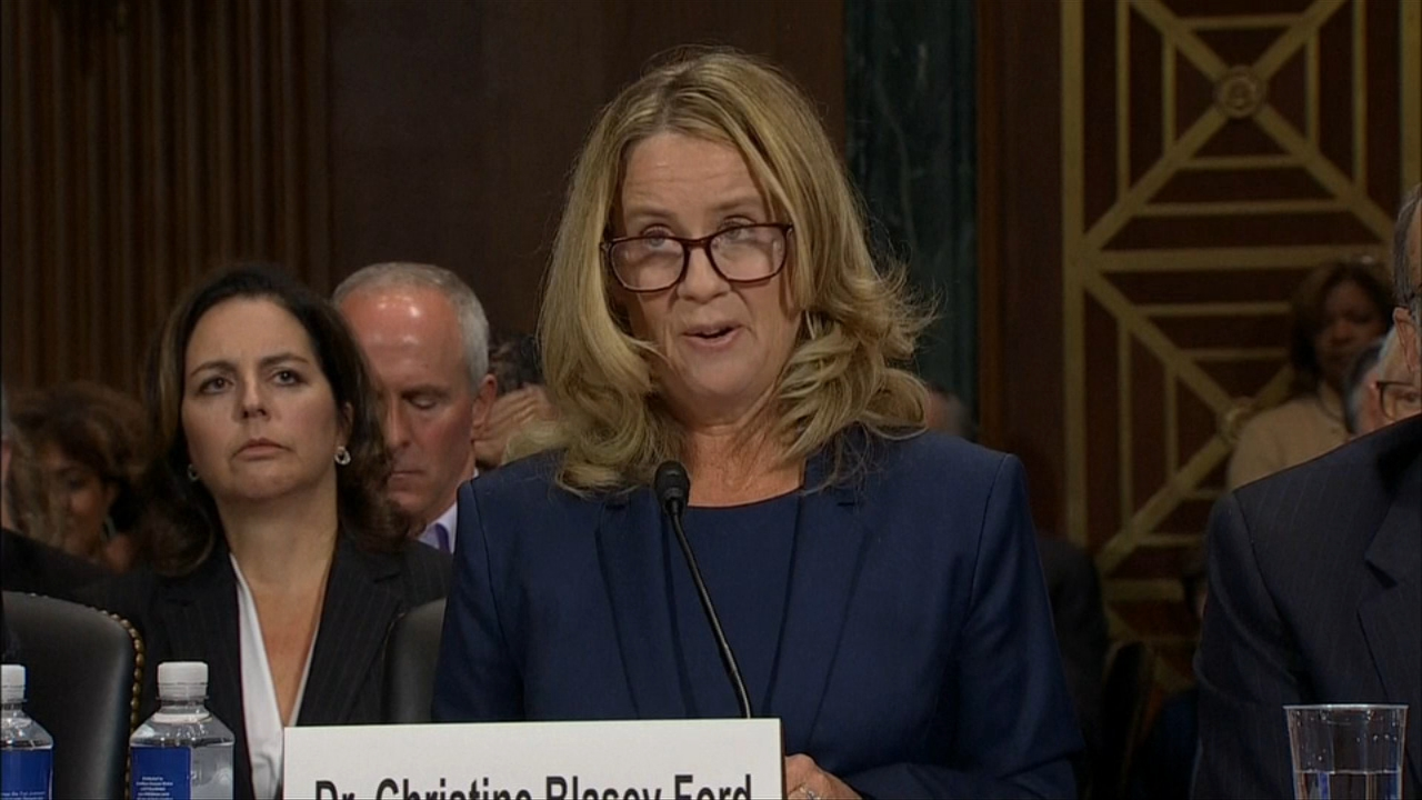 "My responsibility is to tell you the truth."" Christine Blasey Ford testified during the Kavanaugh hearings."