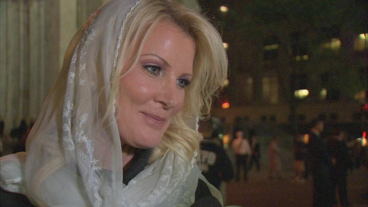 Sandra Lee talks about how Pope Francis gave her a special blessing
