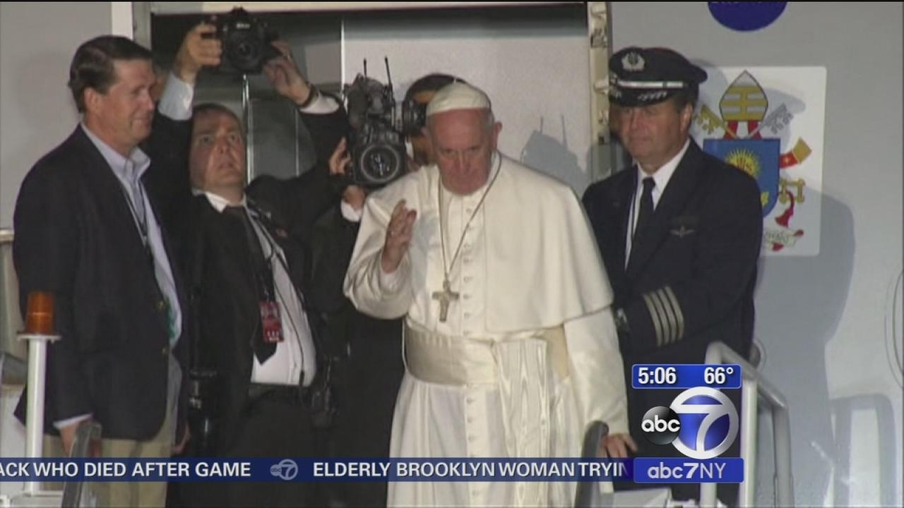 Pope Francis back in Rome after whirlwind trip