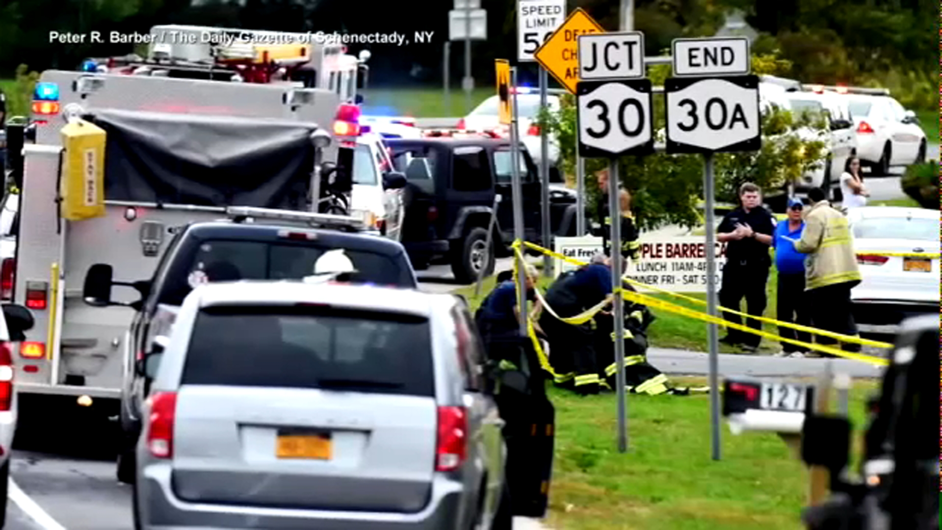 Cuomo Limo That Crashed Shouldnt Have Been On The Road