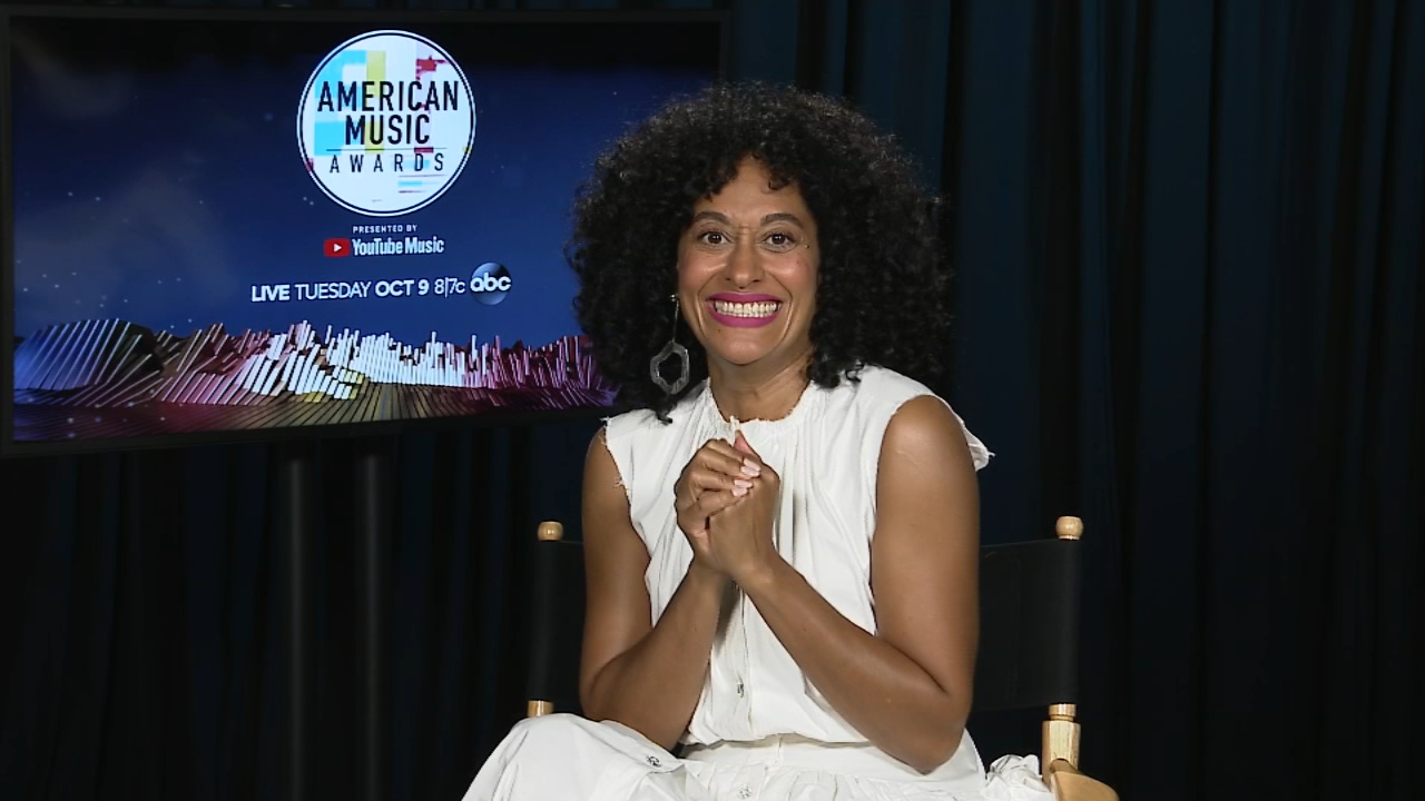 Jennifer Matarese interviews Tracee Ellis Ross about hosting the 2018 American Music Awards.