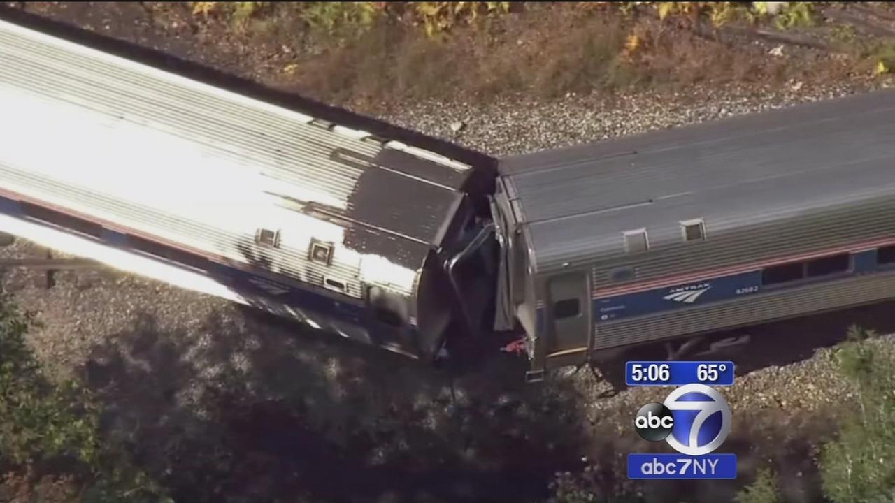 Amtrak train derails in Vermont; no life-threatening injuries reported