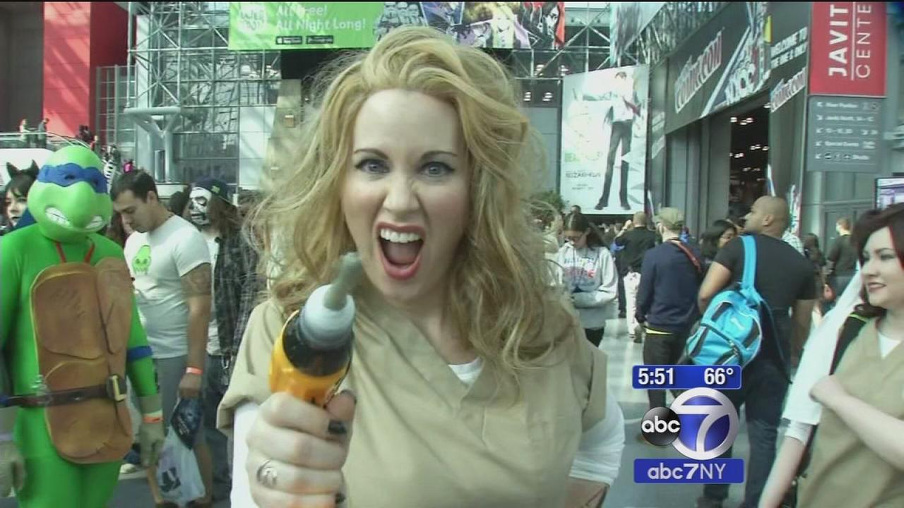 New York Comic Con takes center stage this weekend at Javits Center