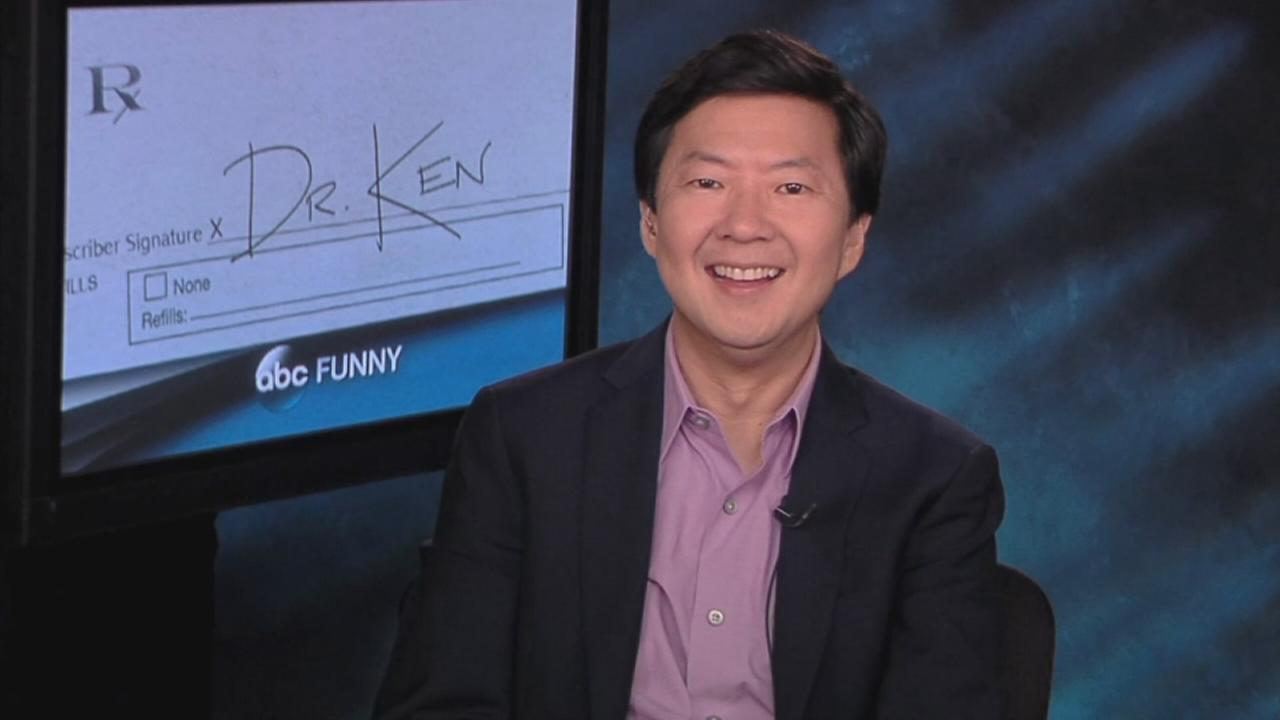 Ken Jeong talks about starring in the new ABC comedy Dr. Ken