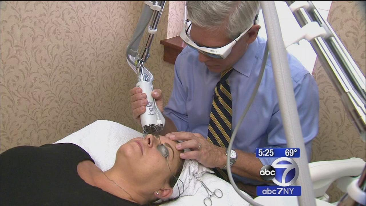 New facial laser treatment aims to make skin look younger, more vibrant