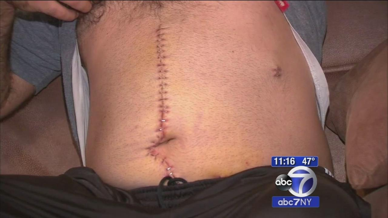 Brooklyn father stabbed in alleged hate crime for speaking Arabic