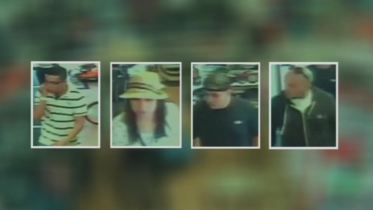 Band of thieves hit 3 stores looking for GoPro cameras