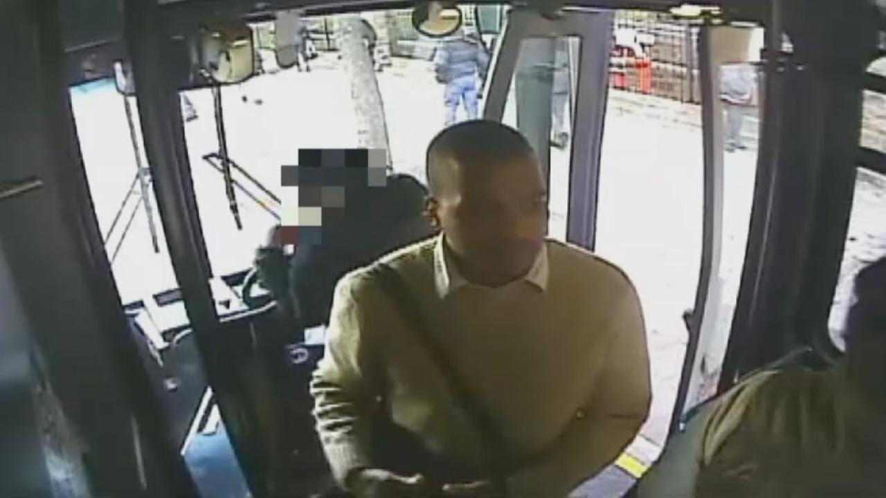 Suspect caught on camera in Bronx bus sex abuse