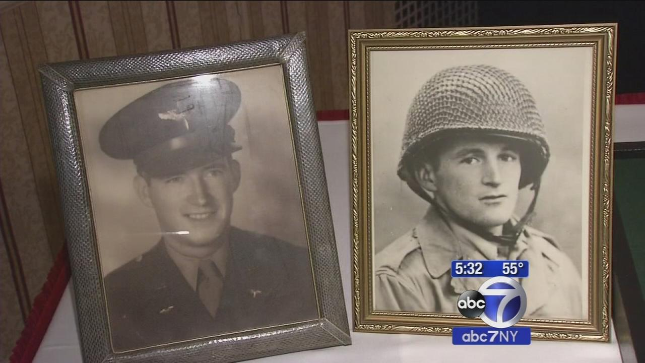 Ceremony held in Brooklyn to replace familys stolen service medals