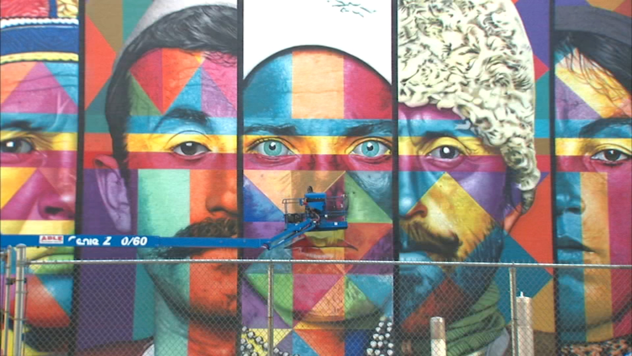 New York Citys largest mural unveiled in West Village